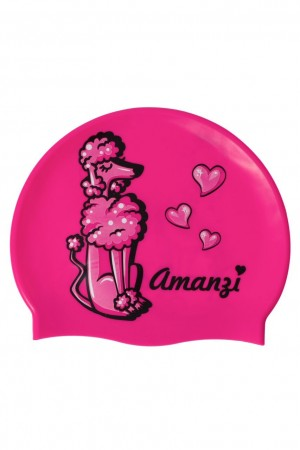 "Amanzi ""Puppy love"" swim cap"