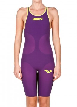 Arena Carbon Air, Open back, Plum-Fluo Yellow