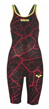 ARENA - Powerskin Carbon Air Limited Edition, Open Back, Black/Bright red