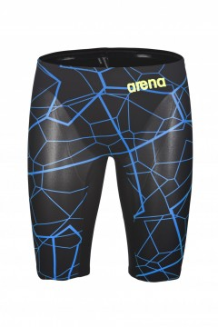 ARENA - Powerskin Carbon Air Limited Edition, Jammer, Black/Bright Blue