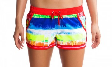 Ladies Boardshort Seperates Dye Hard