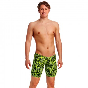 Funky Trunks Training Jammers Coral Gold