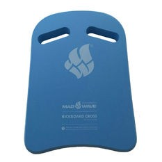 Mad Wave Kickboard Cross Blue