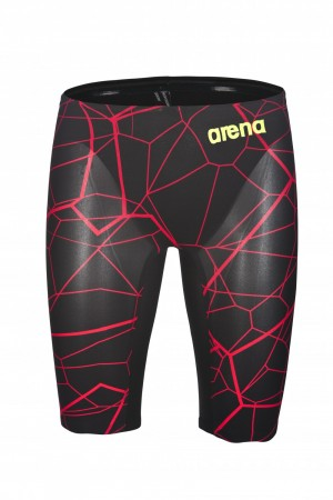 ARENA - Powerskin Carbon Air Limited Edition, Jammer, Black/Bright Red